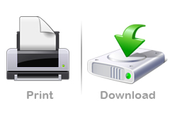 How to print and download an issue