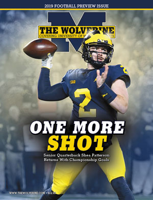 promo code b412b d2bc2 2019 Michigan Football Preview Magazine | The Wolverine On ...